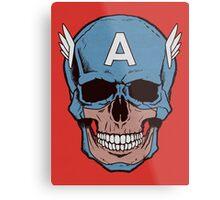 Captain Amerikilled Metal Print