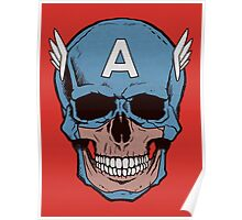 Captain Amerikilled Poster