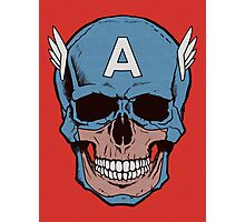 Captain Amerikilled Photographic Print