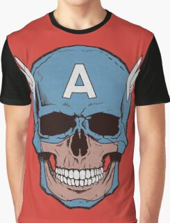 Captain Amerikilled Graphic T-Shirt