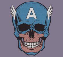 Captain Amerikilled Kids Tee