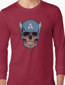 Captain Amerikilled Long Sleeve T-Shirt