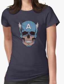 Captain Amerikilled Womens Fitted T-Shirt