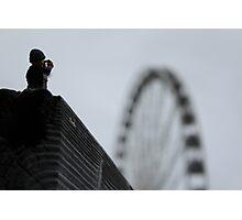 Seattle Wheel Mini  Photographic Print