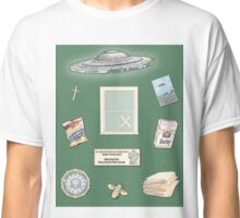 X-Files inspired poster (etc) Classic T-Shirt