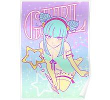 Kami Sama in Neon Colors Poster