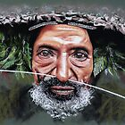 The New Guinea elder by Colombe  Cambourne