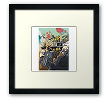 Mad Mac Fury Road Framed Print