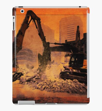 City Building Site iPad Case/Skin