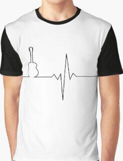 Guitar heart Graphic T-Shirt