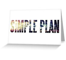 Simple Plan - Summer Paradise Greeting Card