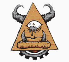 Pyramid Tears Kids Tee