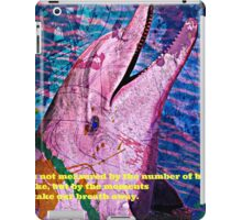 Playful Pink Dolphin iPad Case/Skin