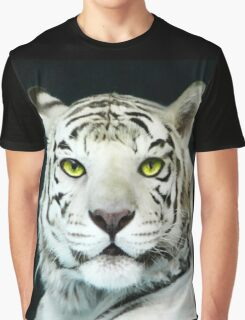 ☝ ☞ LOOKING INTO THE EYES OF THE WHITE TIGER☝ ☞ Graphic T-Shirt