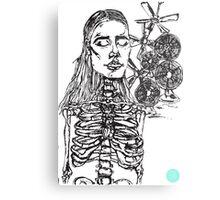 skin Metal Print