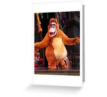 King Louie Greeting Card