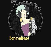 7rD & Benevolence No.4 Black Unisex T-Shirt