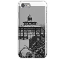Snow on Lake George iPhone Case/Skin