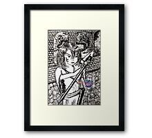 keeper of the castle Framed Print