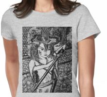 keeper of the castle Womens Fitted T-Shirt