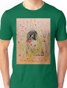 Wildflower Springer Unisex T-Shirt