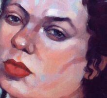 Portrait of Julia #3 Sticker
