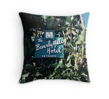 The Beverly Hills Hotel No.2 (Los Angeles) Throw Pillow