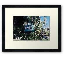 The Beverly Hills Hotel No.2 (Los Angeles) Framed Print