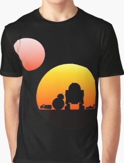 When Two Worlds Collide Graphic T-Shirt