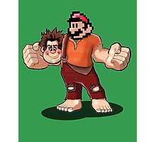 Hey paesanos, it's the Wrecking Bros. Super Show! Photographic Print
