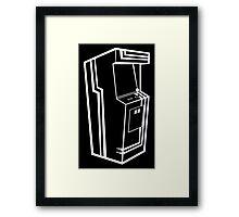 Arcade Black & White Framed Print