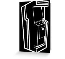 Arcade Black & White Greeting Card