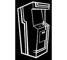 Arcade Black & White Photographic Print