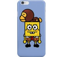 spongebob bambino iPhone Case/Skin