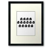 Real estate agent Framed Print