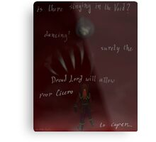 Is There Singing In The Void? Metal Print