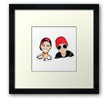 Cute Boys Framed Print