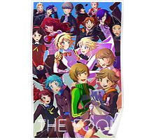 persona: the fool Poster