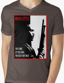 Don't Miss the King Mens V-Neck T-Shirt