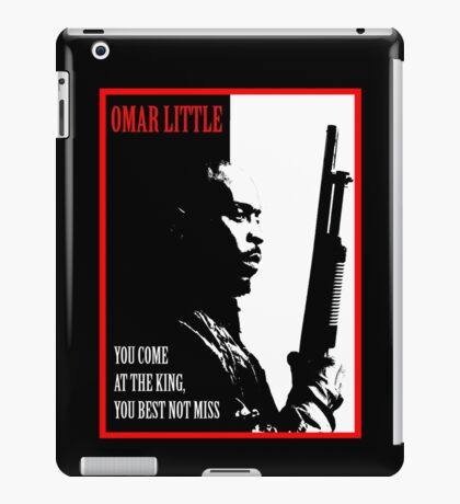 Don't Miss the King iPad Case/Skin