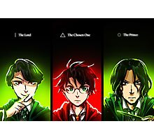harry potter - the choices we make Photographic Print