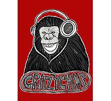 Crazy Chimp Revamped Part 1 Photographic Print