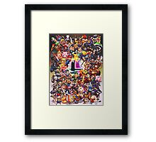 Smash Brothers Framed Print