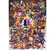 Smash Brothers Photographic Print