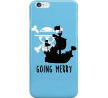 One Piece - Going Merry (update) iPhone Case/Skin