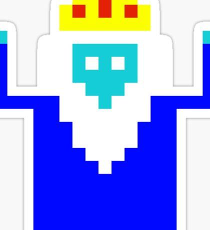 Ice King 8 Bit Sticker