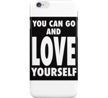 LOVE YOURSELF by Creachel iPhone Case/Skin