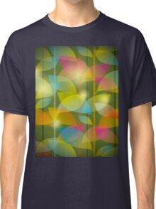 seamless pattern of colored leaves Classic T-Shirt