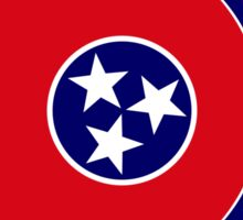 Tennessean Murican Patriot Flag Series Sticker