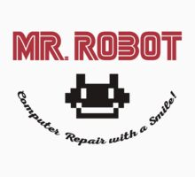 Mr. Robot logo Kids Tee